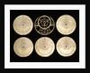 Astrolabe: reverse of plates by Muhammad Muqim al-Yazdi