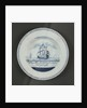 Dutch delftware plate by unknown