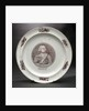 Creamware plate by unknown