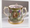 Loving cup commemorating the Trafalgar centenary by W.T. Copeland & Sons Ltd.