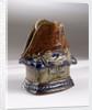 Candlestick commemorating the Trafalgar centenary by Doulton & Co. Ltd.