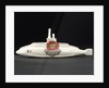 Model submarine in porcelain by Birks