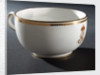 Porcelain cup by Royal Crown Derby Porcelain Co