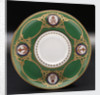 Saucer used on HMY 'Victoria and Albert' (1899) by W.T. Copeland & Sons Ltd.