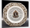 Earthernware plate by Elijah Cotton Ltd.