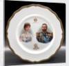 Porcelain plate by Doulton & Co. Ltd.