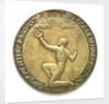 Commemorative medal depicting Sir Francis Chichester (1901-1972) and 'Gypsy Moth IV'; reverse by Spink & Son Ltd.