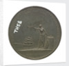 Medal commemorating the return home of Lord Nelson, 1800; reverse by P. Kempton