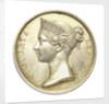 Naval General Service Medal; obverse by W. Wyon