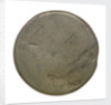 Halfpenny; obverse by unknown