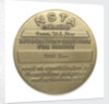 Commemorative medal of the National Science Teachers Association For Service; reverse by unknown
