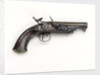 Flintlock pistol by J. Rigby