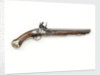 Flintlock pistol by unknown