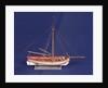 Ship's longboat; 'Medway', starboard broadside by unknown