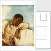 Slave in chains by British School