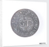 Token depicting a sailing ship by unknown