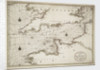 Chart of the English Channel and the Atlantic coasts of southern Britain and northern France by Nicolas Sanson