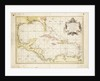 Gulf of Mexico chart by de la Cruz by Thomas Lopez