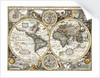 'A new and accurate map of the world' by John Speed, 1626 by John Speed