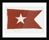 House flag, White Star Line by unknown