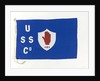 House flag, Ulster Steamship Co. Ltd by unknown