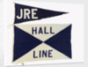 House flag, Hall Line Ltd by unknown