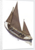 Full hull model, Watson lifeboat, port stern quarter deck by unknown