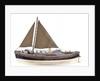 Full hull model, Watson lifeboat, port broadside by unknown