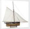 'Alarm', starboard broadside by J.R. Weld