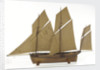 French 8-gun lugger by unknown