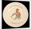 Plate by G.L. Ashworth & Bros Ltd.