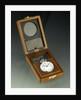 Deck watch in case by Hamilton Watch Co.