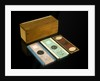 Microscope slide and box by unknown
