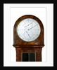 Astronomical regulator, face by William Hardy