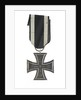 Iron Cross, 2nd class (military), reverse by unknown