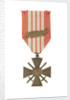Croix de Guerre 1939, obverse by unknown