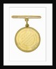 Naval Gold Medal (Captain's) for the Battle of Trafalgar, 1805, reverse by Lewis Pingo