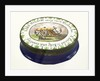 Oval patch box commemorating Vice-Admiral Horatio Nelson (1758-1805) by unknown
