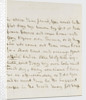 Letter from Nelson to Emma Hamilton, March 1805 by Horatio Nelson
