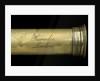 Pocket telescope - draw tube inscription by Jesse Ramsden