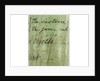 Pocket telescope - inscription by John Cuff