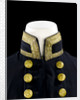 Full dress coat - collar, Indian Naval uniform: pattern 1828 by Jennens