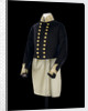 Full dress coat, Royal Naval uniform: pattern 1843 by Boggett & Reynolds