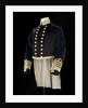 Full dress coat, Royal Naval uniform: pattern 1856 by Jennens