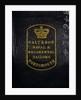 Royal Marines uniform: epaulettes (underside) by Galt & Son