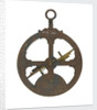 Greenwich (Valentia) Astrolabe - back by unknown
