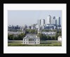 View of Queen's House and Isle of Dogs from Greenwich Park by National Maritime Museum Photo Studio