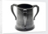Pewter tankard won at the RNAV cutter race, 1890 by James Dixon & Sons