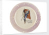 Sunderland lustreware plate by unknown