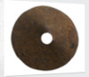 Iron plate by unknown